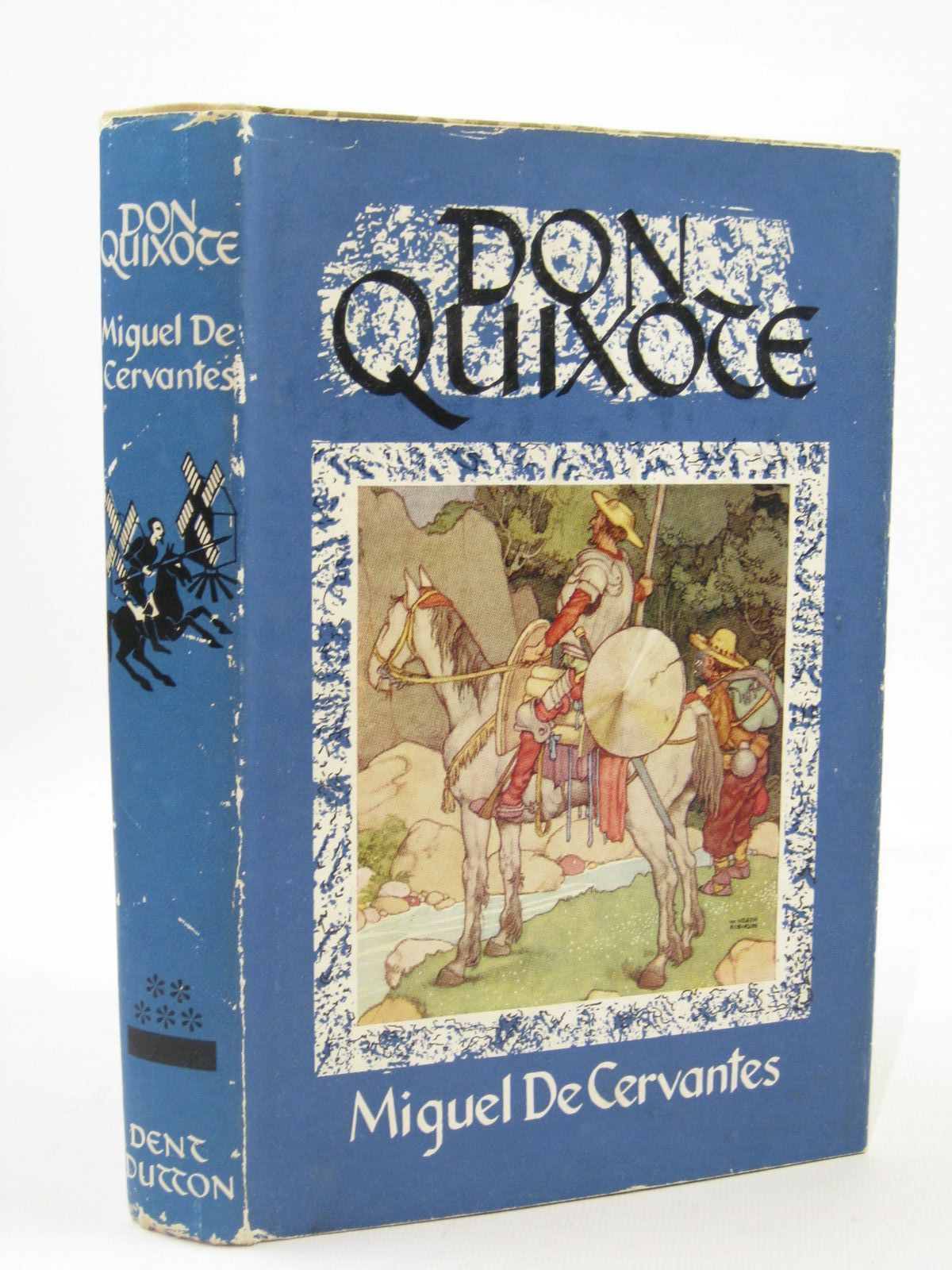 Photo of THE ADVENTURES OF DON QUIXOTE DE LA MANCHA written by De Cervantes, Miguel illustrated by Robinson, W. Heath published by J.M. Dent & Sons Ltd. (STOCK CODE: 1507683)  for sale by Stella & Rose's Books
