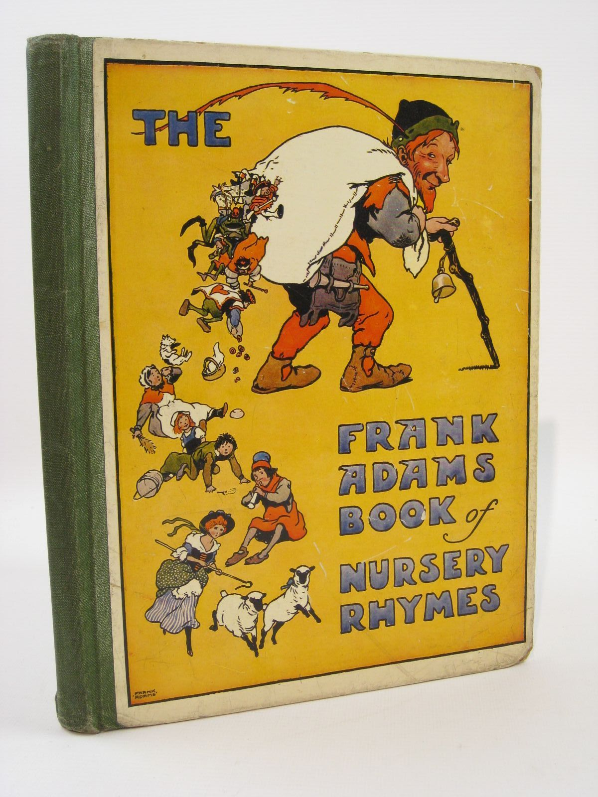 Photo of THE FRANK ADAMS BOOK OF NURSERY RHYMES illustrated by Adams, Frank published by Blackie & Son Ltd. (STOCK CODE: 1507694)  for sale by Stella & Rose's Books