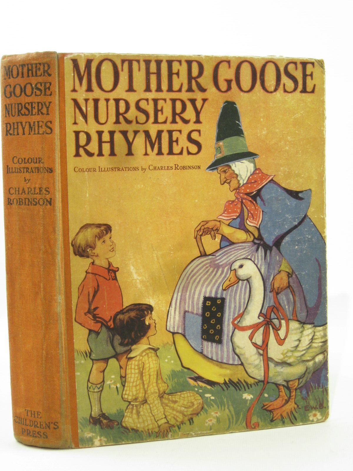 Photo of MOTHER GOOSE NURSERY RHYMES written by Tadema, Laurence Alma illustrated by Robinson, Charles published by The Children's Press (STOCK CODE: 1507698)  for sale by Stella & Rose's Books