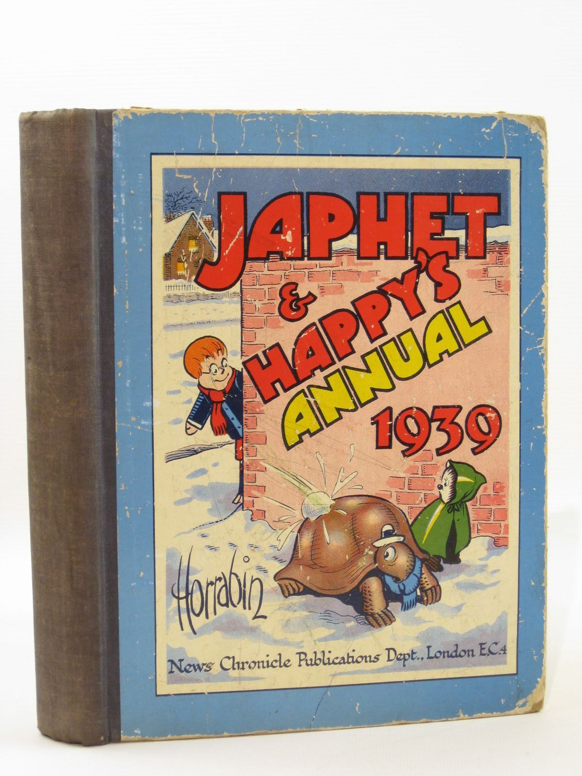 Photo of JAPHET AND HAPPY'S ANNUAL 1939 written by Horrabin, J.F. illustrated by Horrabin, J.F. published by News Chronicle Publications (STOCK CODE: 1507711)  for sale by Stella & Rose's Books