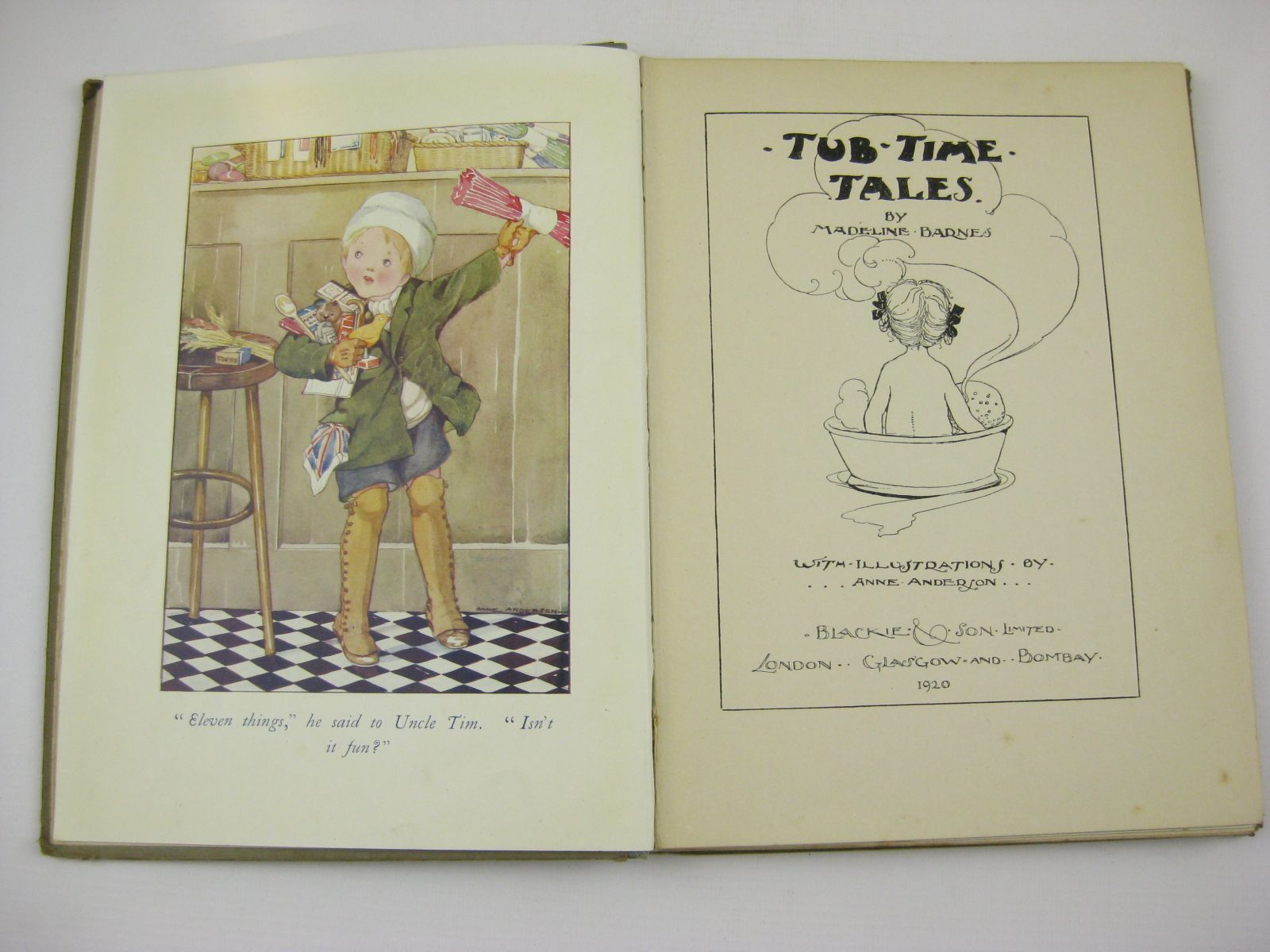Photo of TUB-TIME TALES written by Barnes, Madeline illustrated by Anderson, Anne published by Blackie & Son Ltd. (STOCK CODE: 1507720)  for sale by Stella & Rose's Books