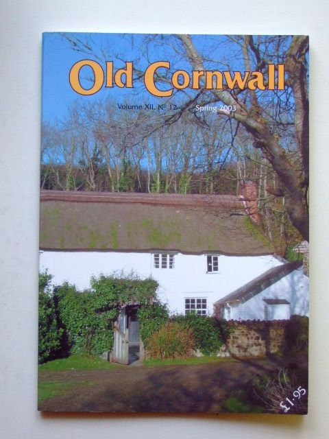 Photo of OLD CORNWALL VOL. XII No. 12 SPRING 2003- Stock Number: 1601157
