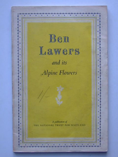 Photo of BEN LAWERS AND ITS ALPINE FLOWERS written by Poore, Duncan Ross, Fraser published by The National Trust For Scotland (STOCK CODE: 1601568)  for sale by Stella & Rose's Books