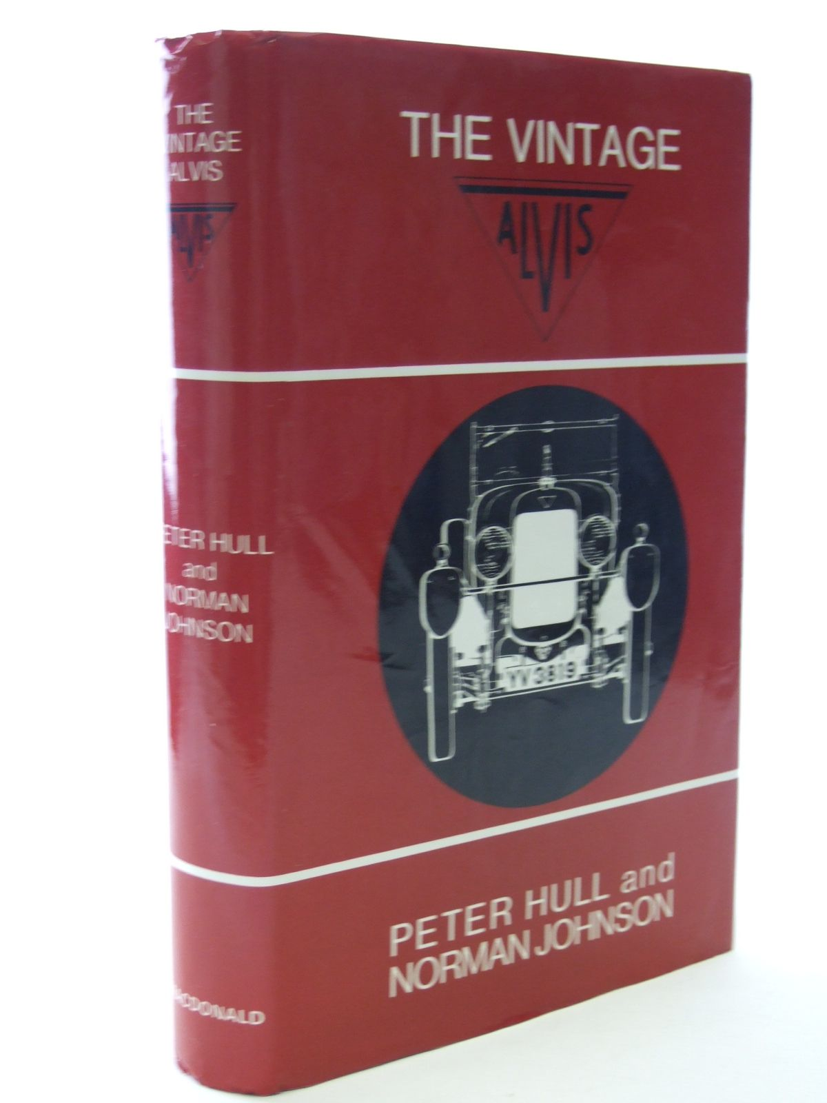 Photo of THE VINTAGE ALVIS written by Hull, Peter<br />Johnson, N. published by MacDonald (STOCK CODE: 1602661)  for sale by Stella & Rose's Books
