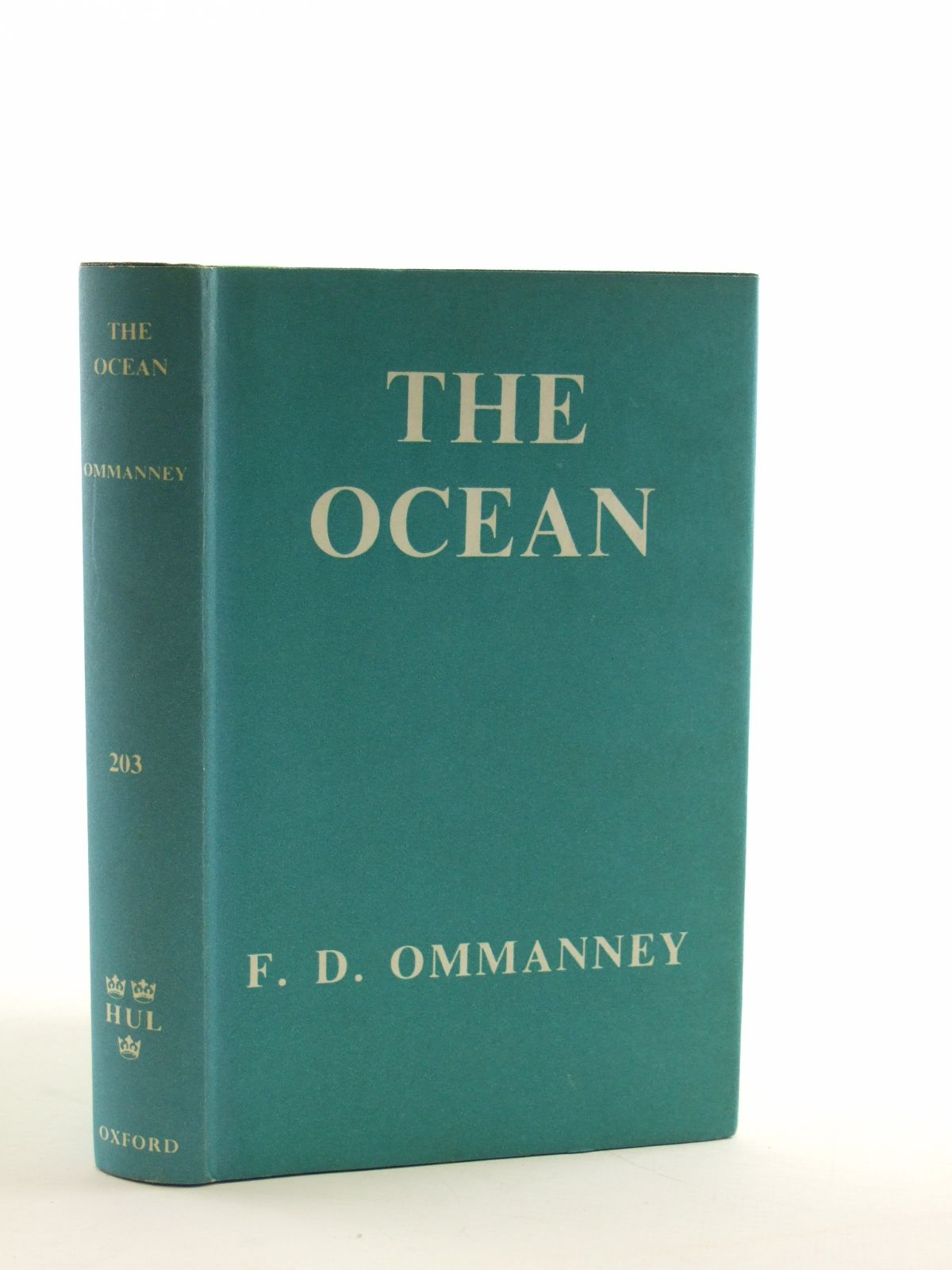 Photo of THE OCEAN written by Ommanney, F.D. published by Oxford University Press (STOCK CODE: 1602920)  for sale by Stella & Rose's Books
