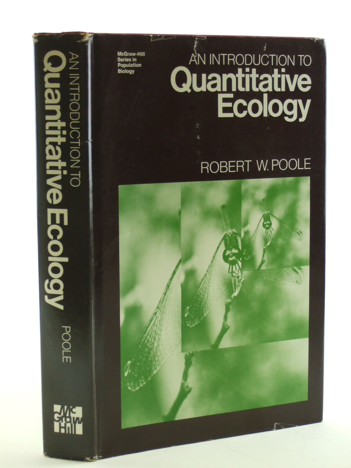Photo of AN INTRODUCTION TO QUANTITATIVE ECOLOGY written by Poole, Robert W. published by McGraw-Hill (STOCK CODE: 1602947)  for sale by Stella & Rose's Books
