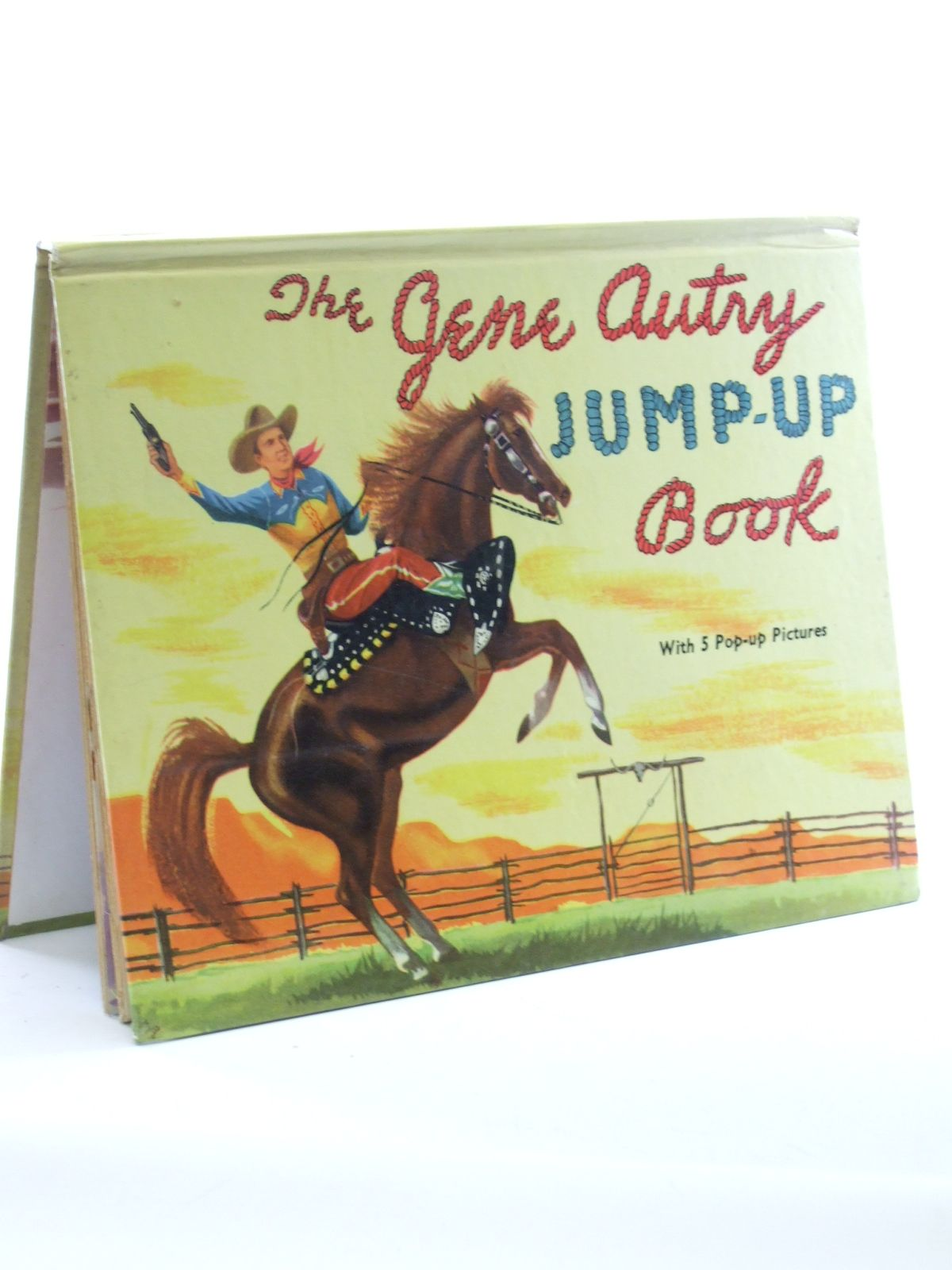 Photo of THE GENE AUTRY JUMP-UP BOOK published by Adprint Limited (STOCK CODE: 1603101)  for sale by Stella & Rose's Books