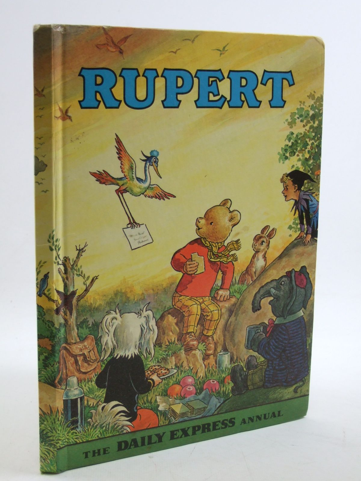 Photo of RUPERT ANNUAL 1972 written by Bestall, Alfred illustrated by Bestall, Alfred published by Daily Express (STOCK CODE: 1604069)  for sale by Stella & Rose's Books