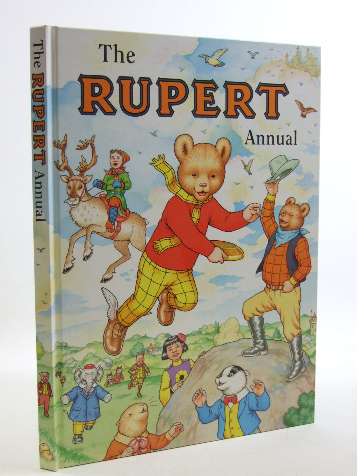 Photo of RUPERT ANNUAL 1999 written by Robinson, Ian illustrated by Harrold, John Hart, Gina published by Pedigree Books Limited (STOCK CODE: 1604070)  for sale by Stella & Rose's Books