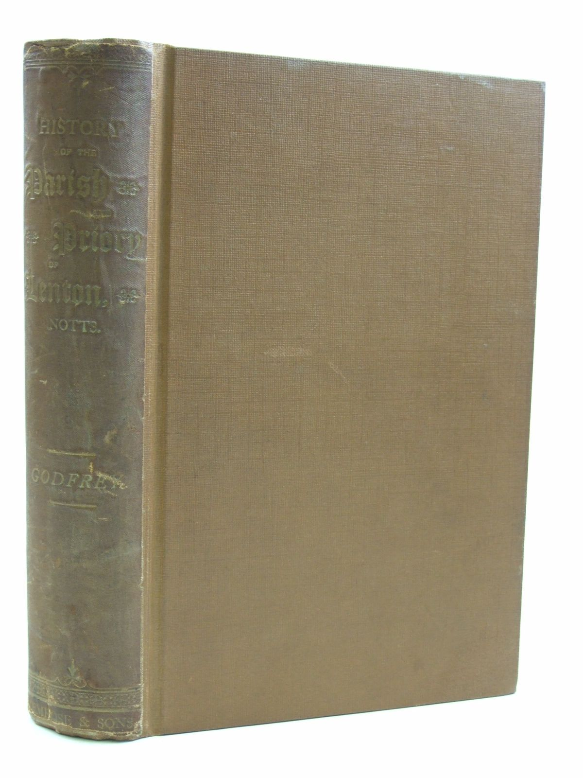 Photo of THE HISTORY OF THE PARISH AND PRIORY OF LENTON IN THE COUNTY OF NOTTINGHAM- Stock Number: 1604351