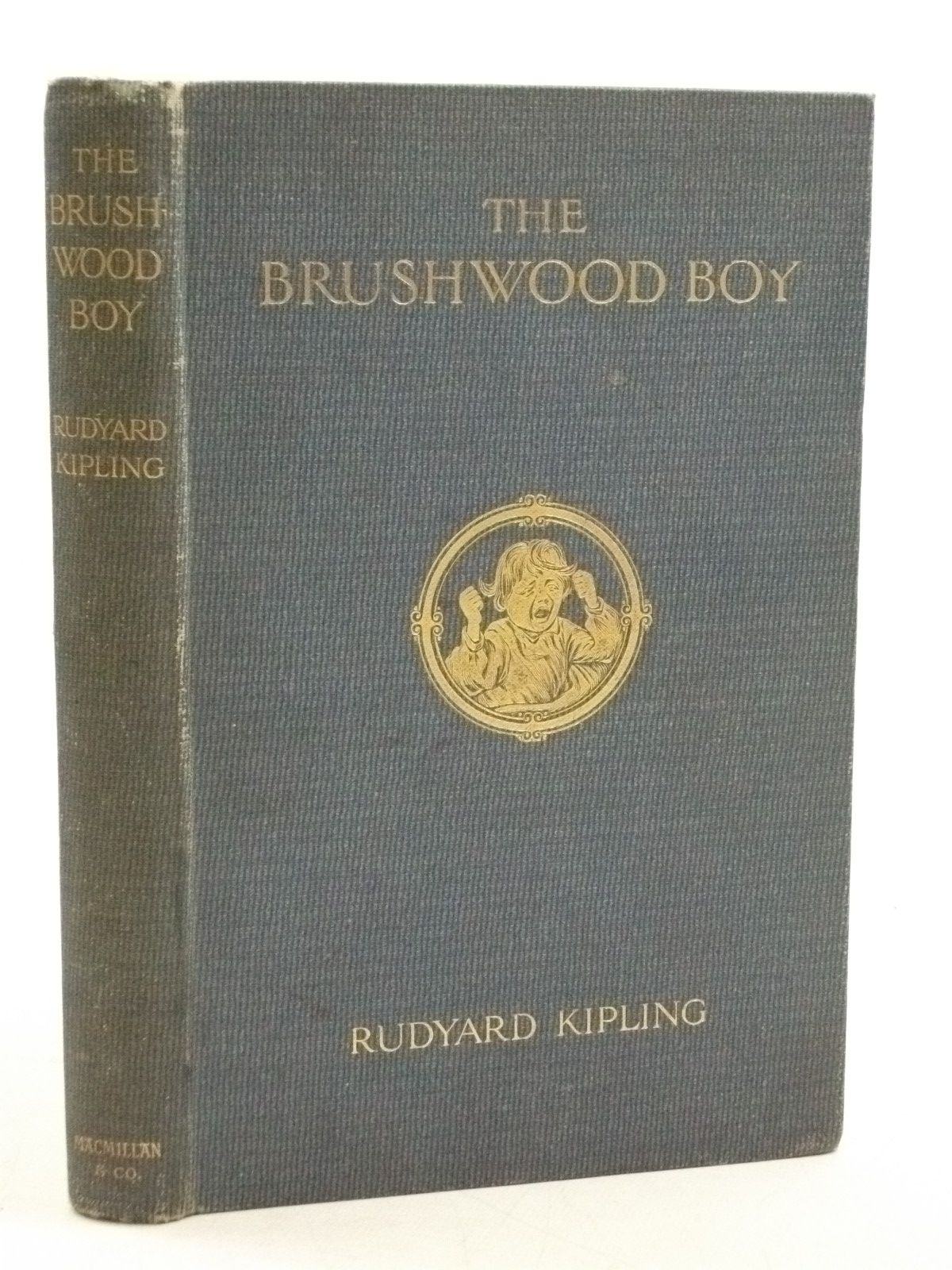Photo of THE BRUSHWOOD BOY written by Kipling, Rudyard illustrated by Townsend, F.H. published by Macmillan & Co. Ltd. (STOCK CODE: 1604603)  for sale by Stella & Rose's Books