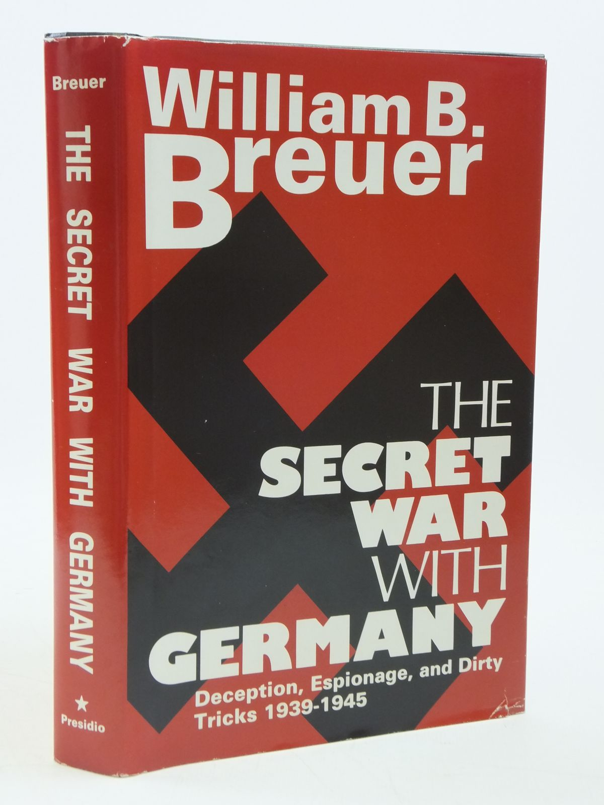 Photo of THE SECRET WAR WITH GERMANY written by Breuer, William B. published by Presidio Press (STOCK CODE: 1604696)  for sale by Stella & Rose's Books