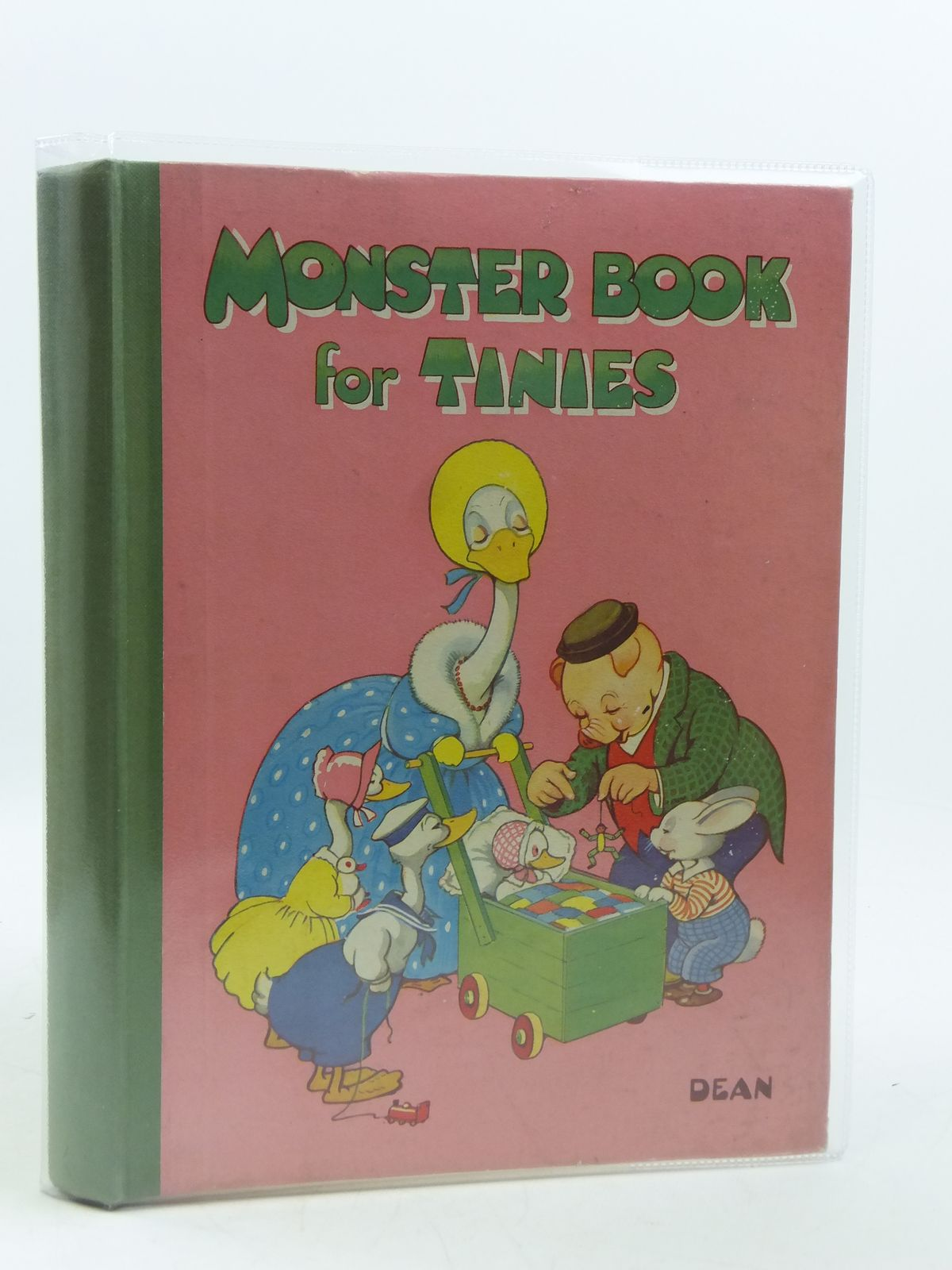 Photo of MONSTER BOOK FOR TINIES written by Pearcey, Kathleen Allan, Mabel Esther et al,  published by Dean & Son Ltd. (STOCK CODE: 1604783)  for sale by Stella & Rose's Books