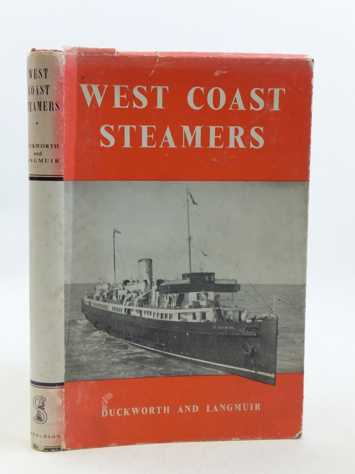 Photo of WEST COAST STEAMERS written by Duckworth, Christian L.D.<br />Langmuir, Graham Easton published by T. Stephenson &amp; Sons Ltd. (STOCK CODE: 1604924)  for sale by Stella & Rose's Books