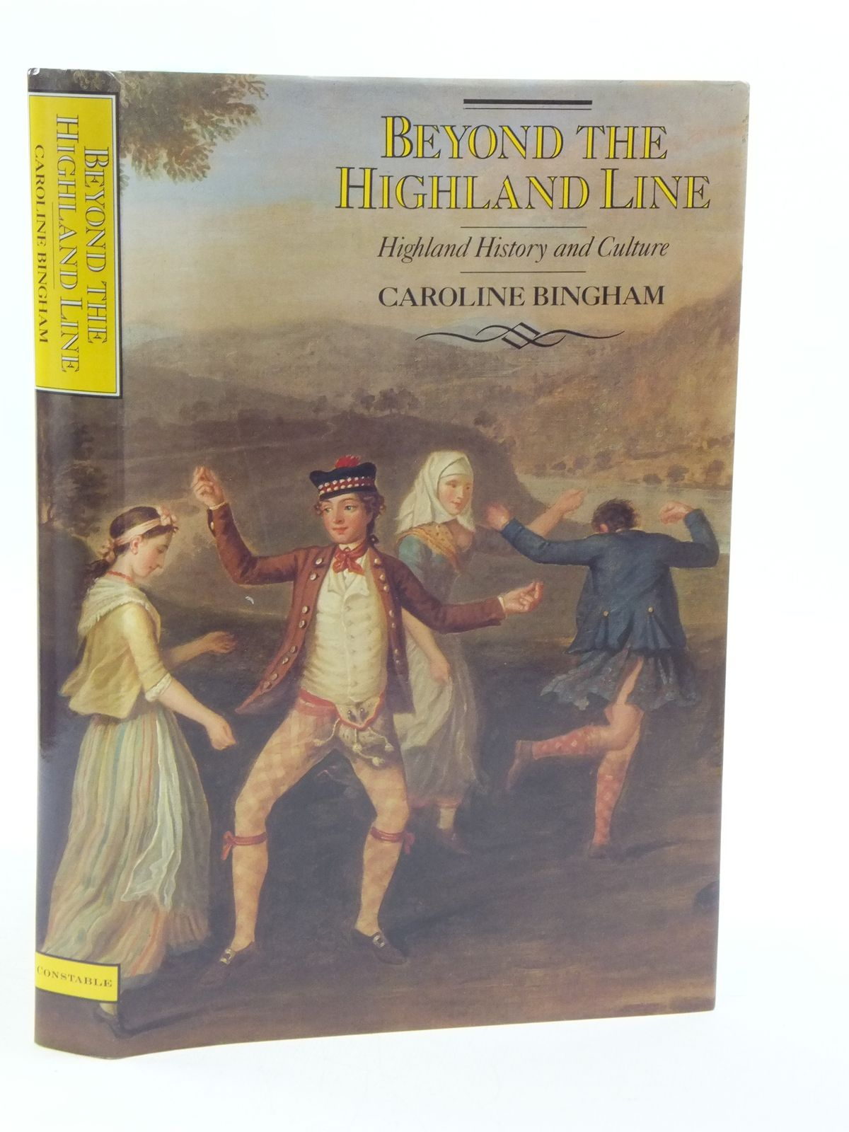 Photo of BEYOND THE HIGHLAND LINE written by Bingham, Caroline published by Constable (STOCK CODE: 1605014)  for sale by Stella & Rose's Books