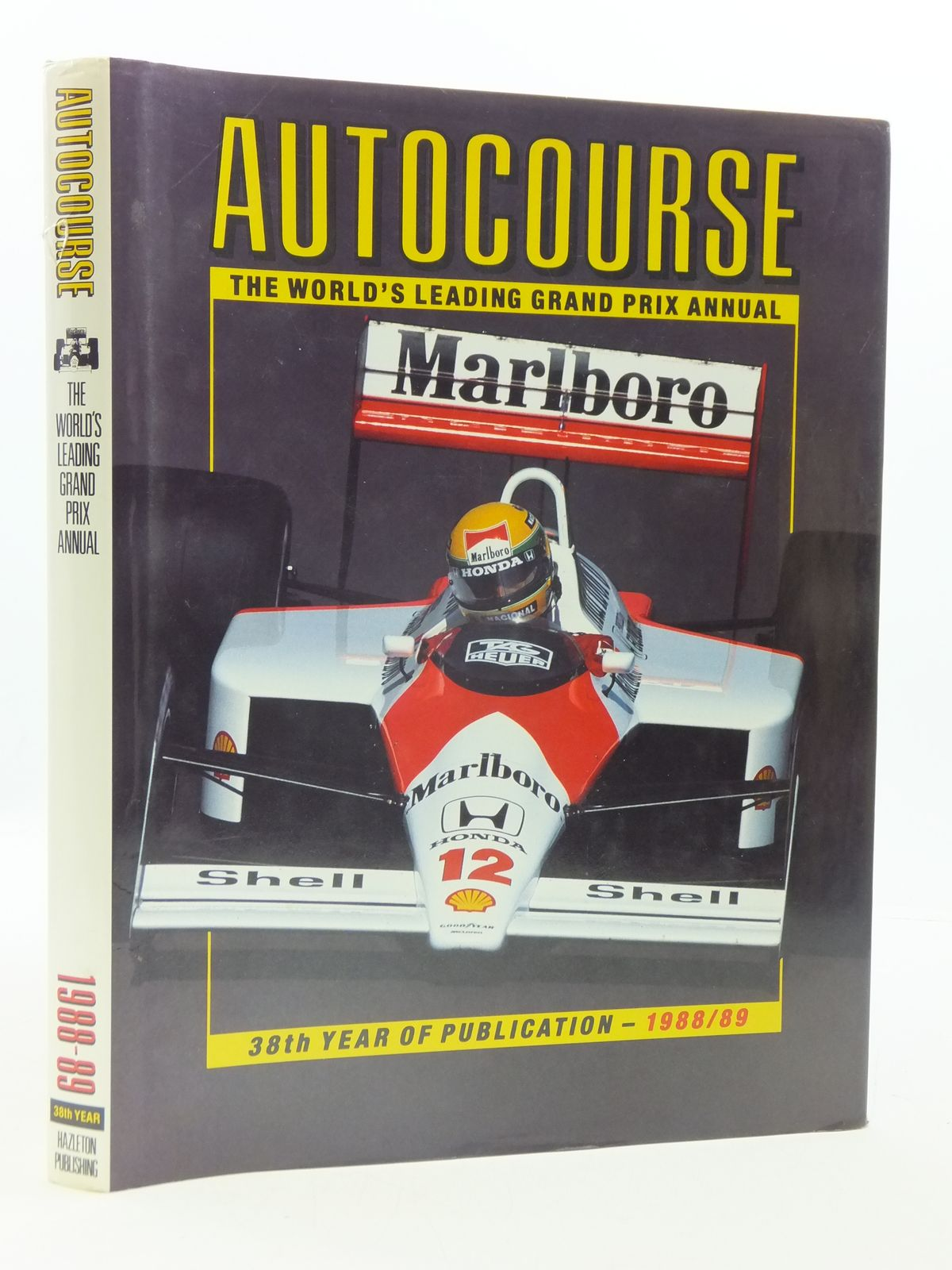 Photo of AUTOCOURSE 1988-89 written by Henry, Alan published by Hazleton Publishing (STOCK CODE: 1605117)  for sale by Stella & Rose's Books