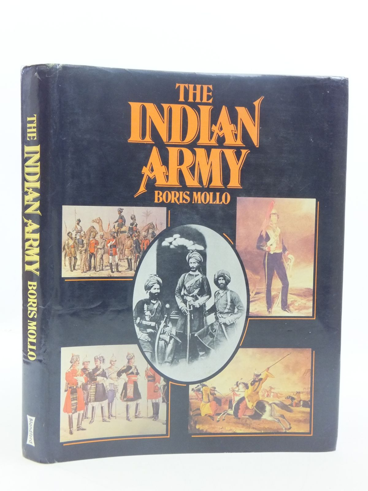 Photo of THE INDIAN ARMY written by Mollo, Boris published by Blandford Press (STOCK CODE: 1605311)  for sale by Stella & Rose's Books