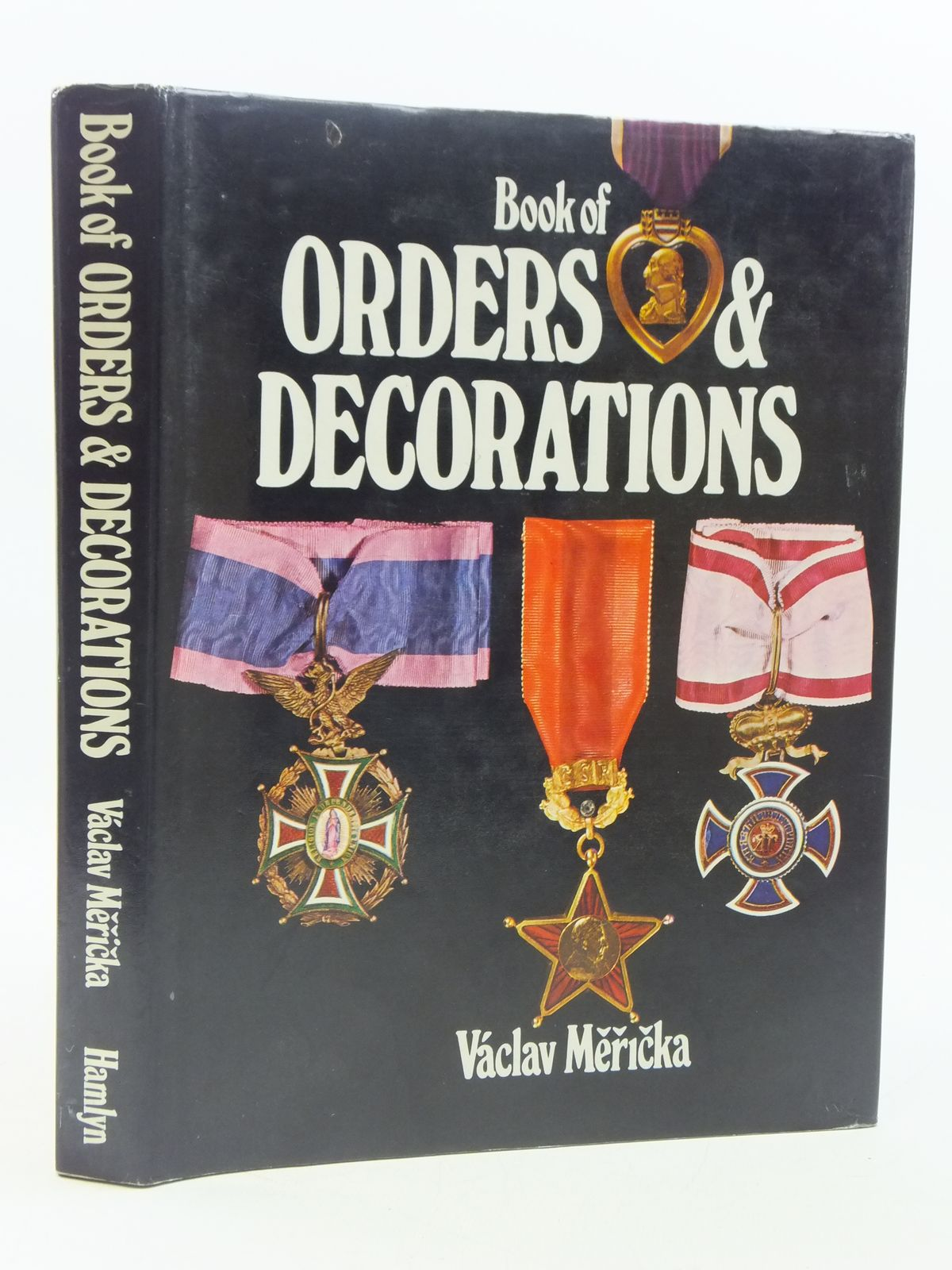 Photo of THE BOOK OF ORDERS AND DECORATIONS- Stock Number: 1605328