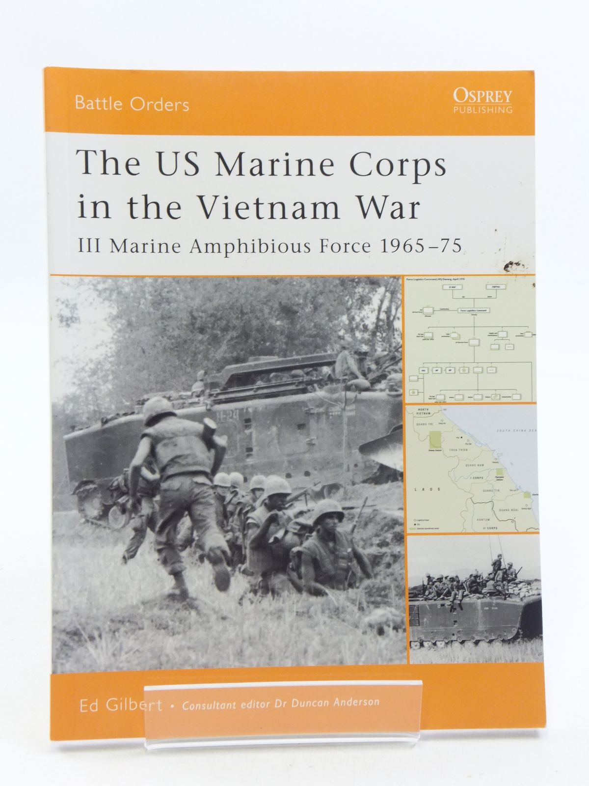 Photo of THE US MARINE CORPS IN THE VIETNAM WAR written by Gilbert, Ed published by Osprey Publishing (STOCK CODE: 1605331)  for sale by Stella & Rose's Books