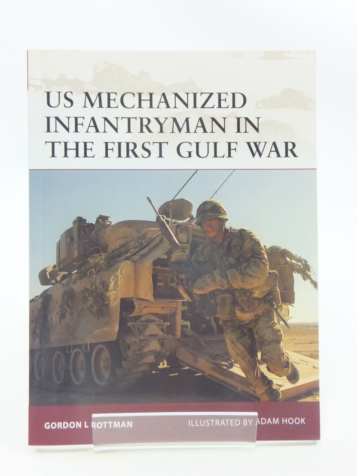 Photo of US MECHANIZED INFANTRYMAN IN THE FIRST GULF WAR- Stock Number: 1605407