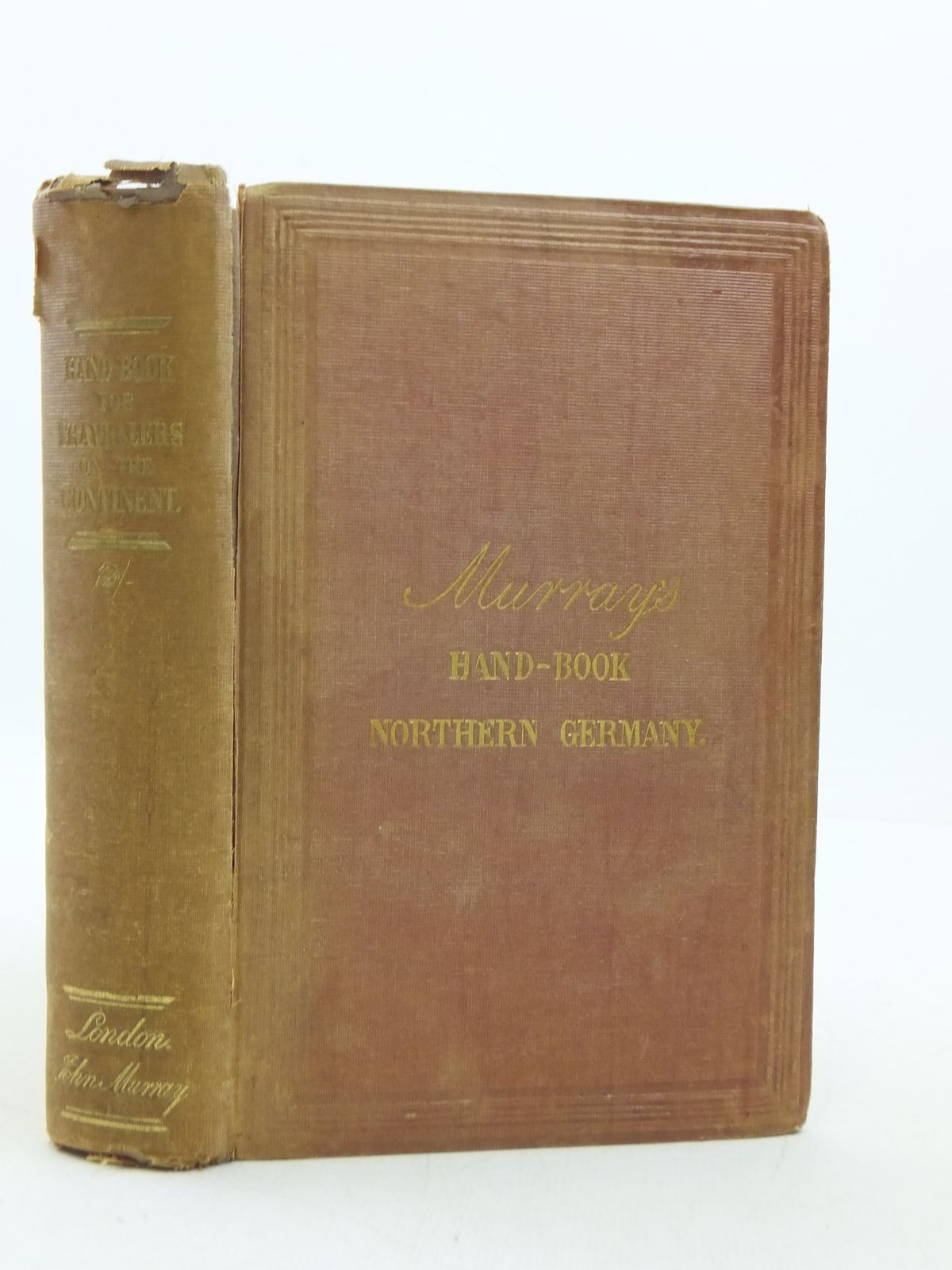 Photo of A HAND-BOOK FOR TRAVELLERS ON THE CONTINENT- Stock Number: 1605436