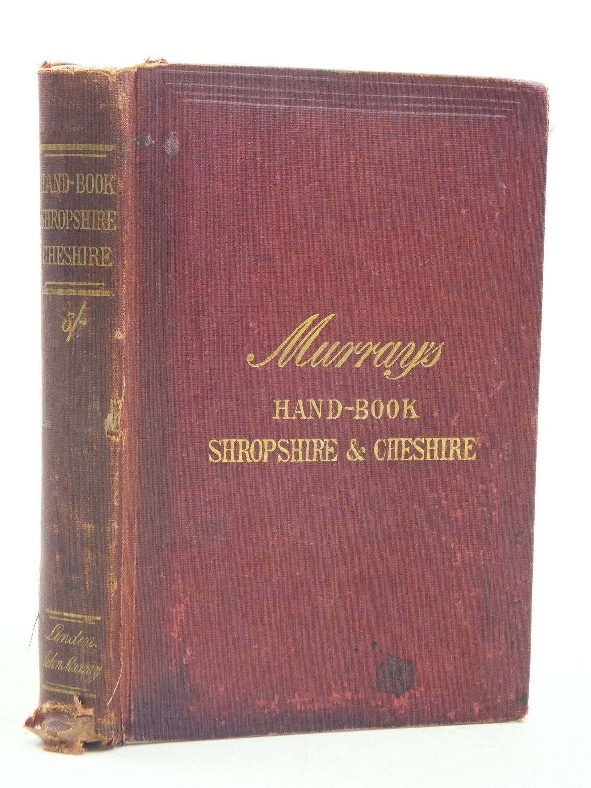 Photo of HANDBOOK FOR SHROPSHIRE AND CHESHIRE published by John Murray (STOCK CODE: 1605455)  for sale by Stella & Rose's Books