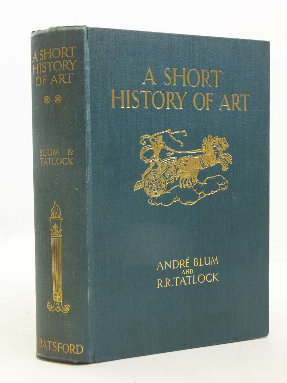 Photo of A SHORT HISTORY OF ART written by Blum, Andre Tatlock, R.R. published by B.T. Batsford (STOCK CODE: 1605496)  for sale by Stella & Rose's Books