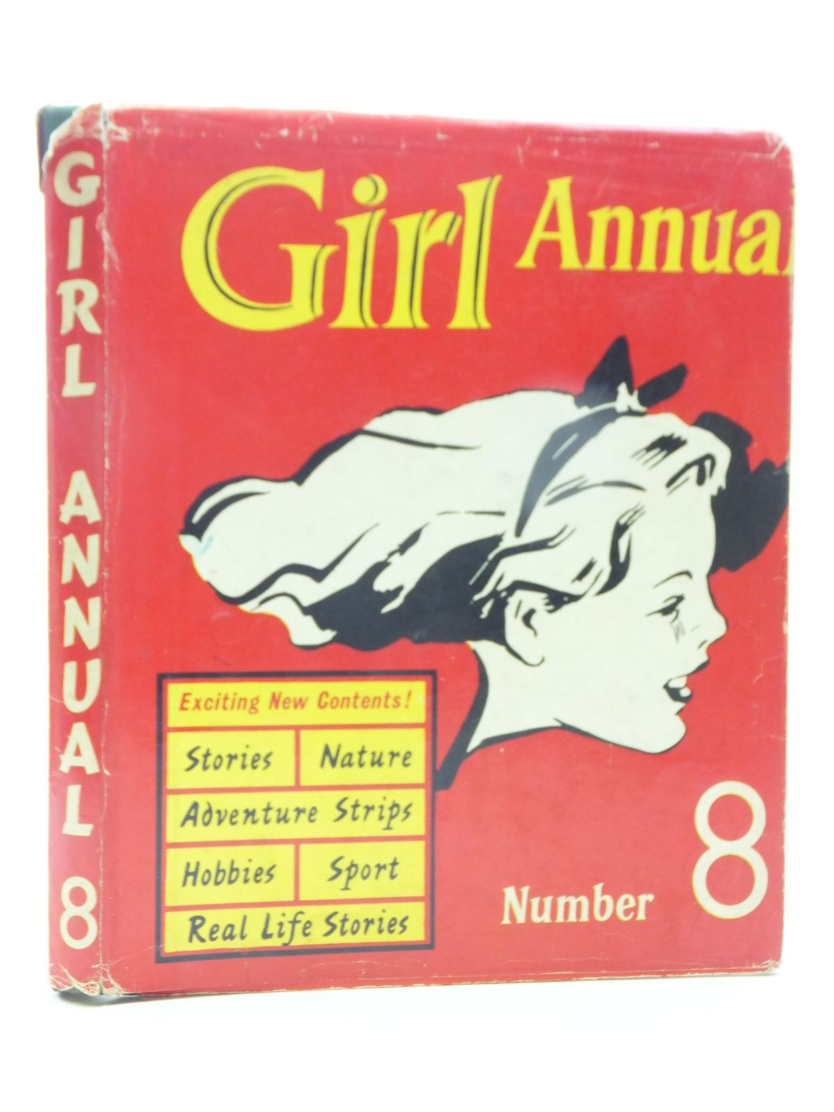 Photo of GIRL ANNUAL No. 8- Stock Number: 1605611