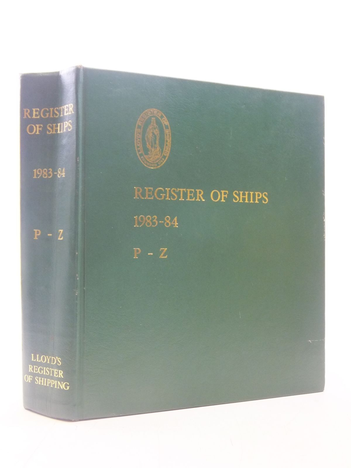 Photo of LLOYD'S REGISTER OF SHIPS 1983-84 P-Z published by Lloyd's Register Of Shipping (STOCK CODE: 1605868)  for sale by Stella & Rose's Books