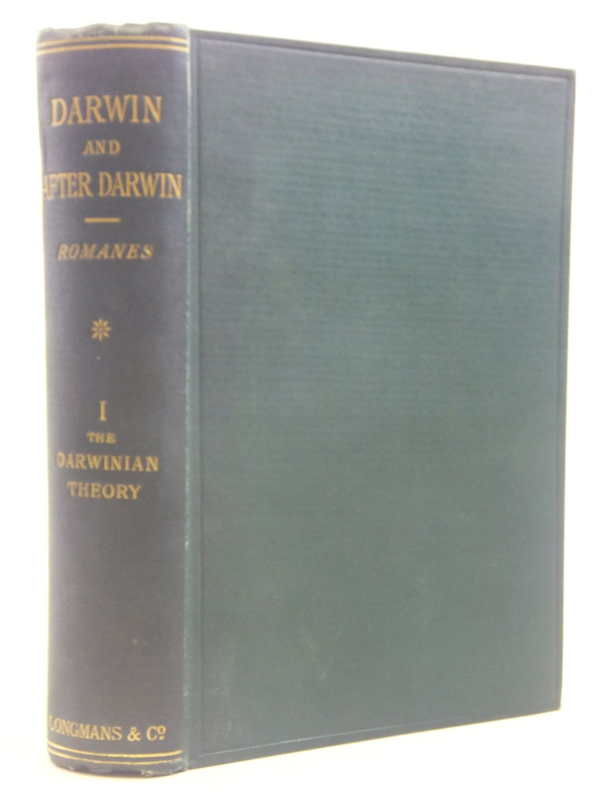 Photo of DARWIN, AND AFTER DARWIN VOLUME 1- Stock Number: 1606004