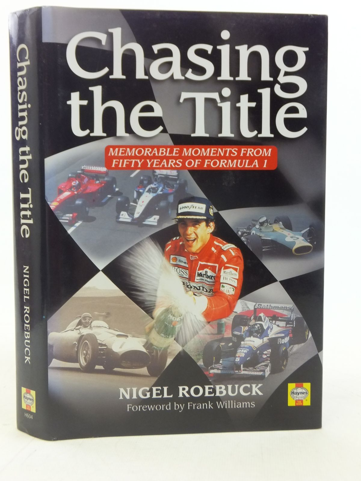 Photo of CHASING THE TITLE MEMORABLE MOMENTS FROM FIFTY YEARS OF FORMULA 1 written by Roebuck, Nigel published by Haynes Publishing Group (STOCK CODE: 1606120)  for sale by Stella & Rose's Books