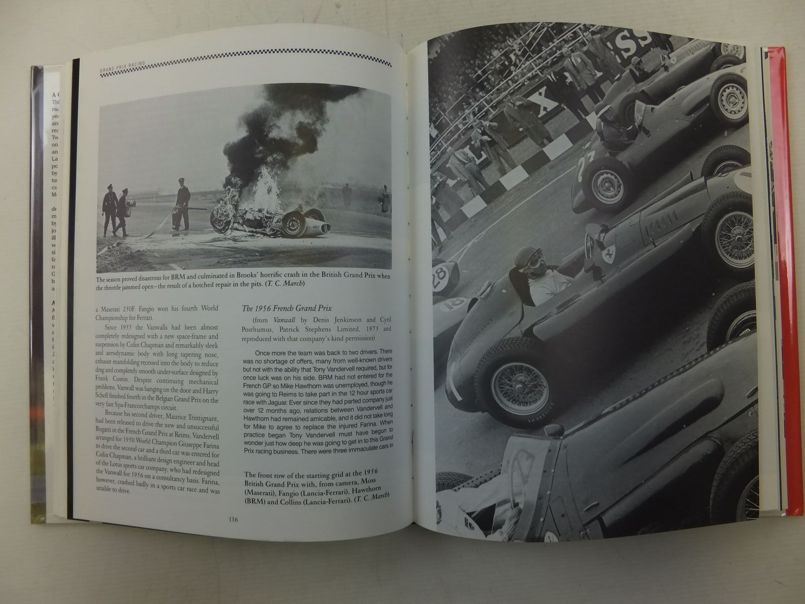 Photo of A CENTURY OF GRAND PRIX MOTOR RACING written by Pritchard, Anthony Moss, Stirling published by Motor Racing Publications Ltd. (STOCK CODE: 1606154)  for sale by Stella & Rose's Books