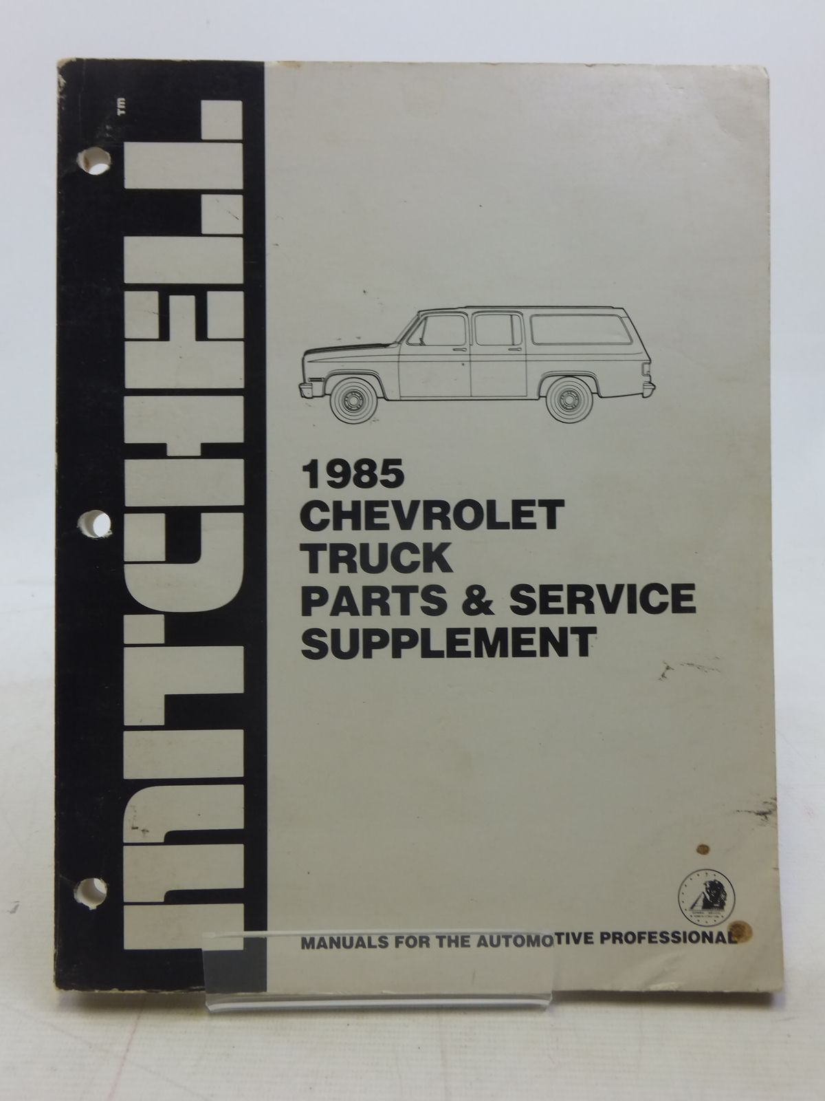 Photo of 1985 CHEVROLET TRUCK PARTS & SERVICE SUPPLEMENT- Stock Number: 1606160