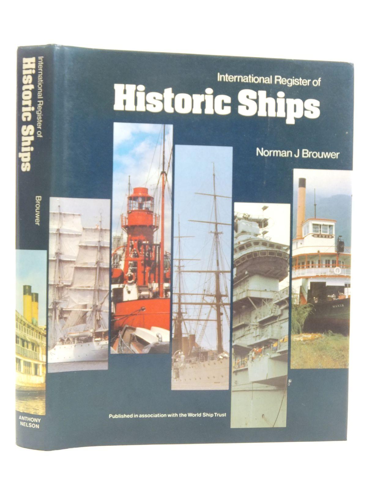 Photo of INTERNATIONAL REGISTER OF HISTORIC SHIPS- Stock Number: 1606374
