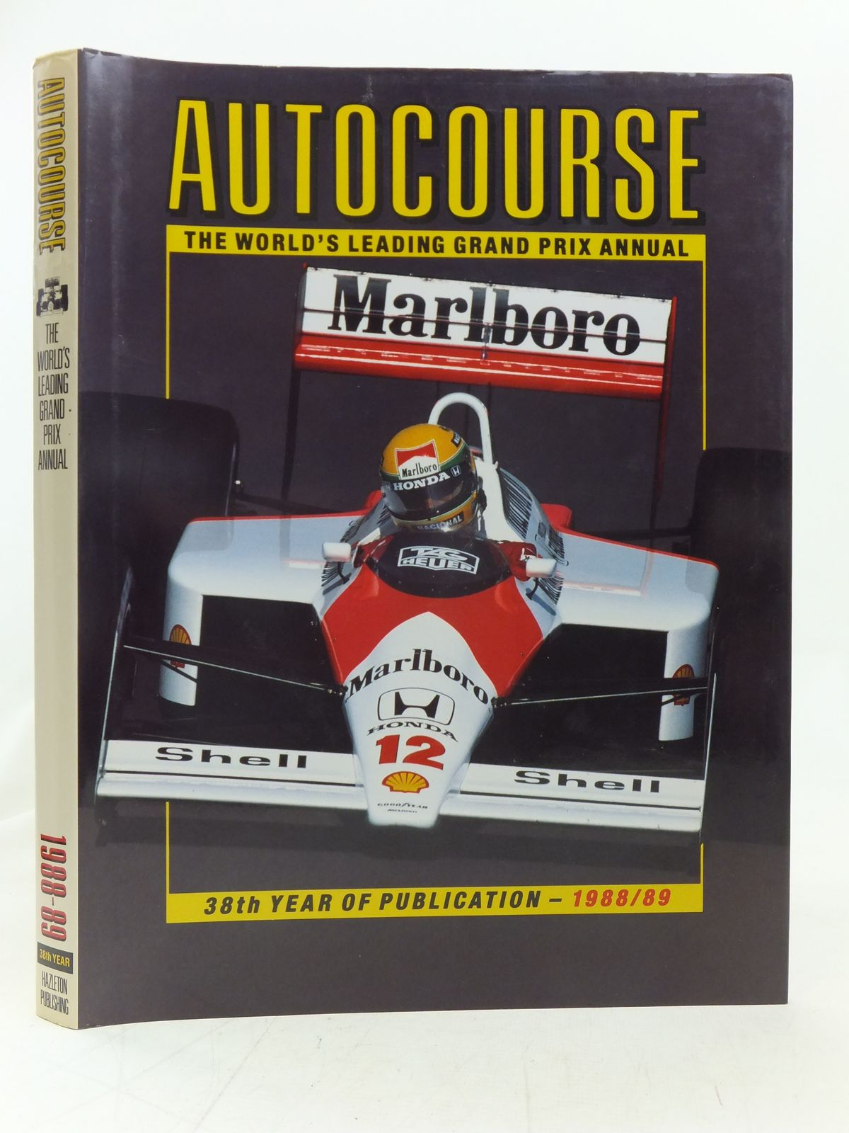 Photo of AUTOCOURSE 1988-89 written by Henry, Alan published by Hazleton Publishing (STOCK CODE: 1606430)  for sale by Stella & Rose's Books