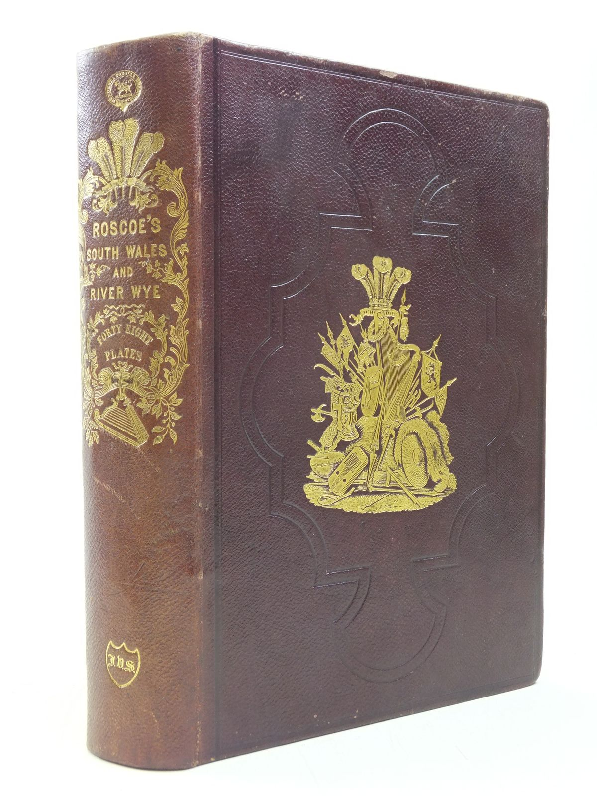 Photo of WANDERINGS AND EXCURSIONS (TWO VOLUMES) written by Roscoe, Thomas published by C. Tilt and Simpkin and Co. (STOCK CODE: 1606432)  for sale by Stella & Rose's Books