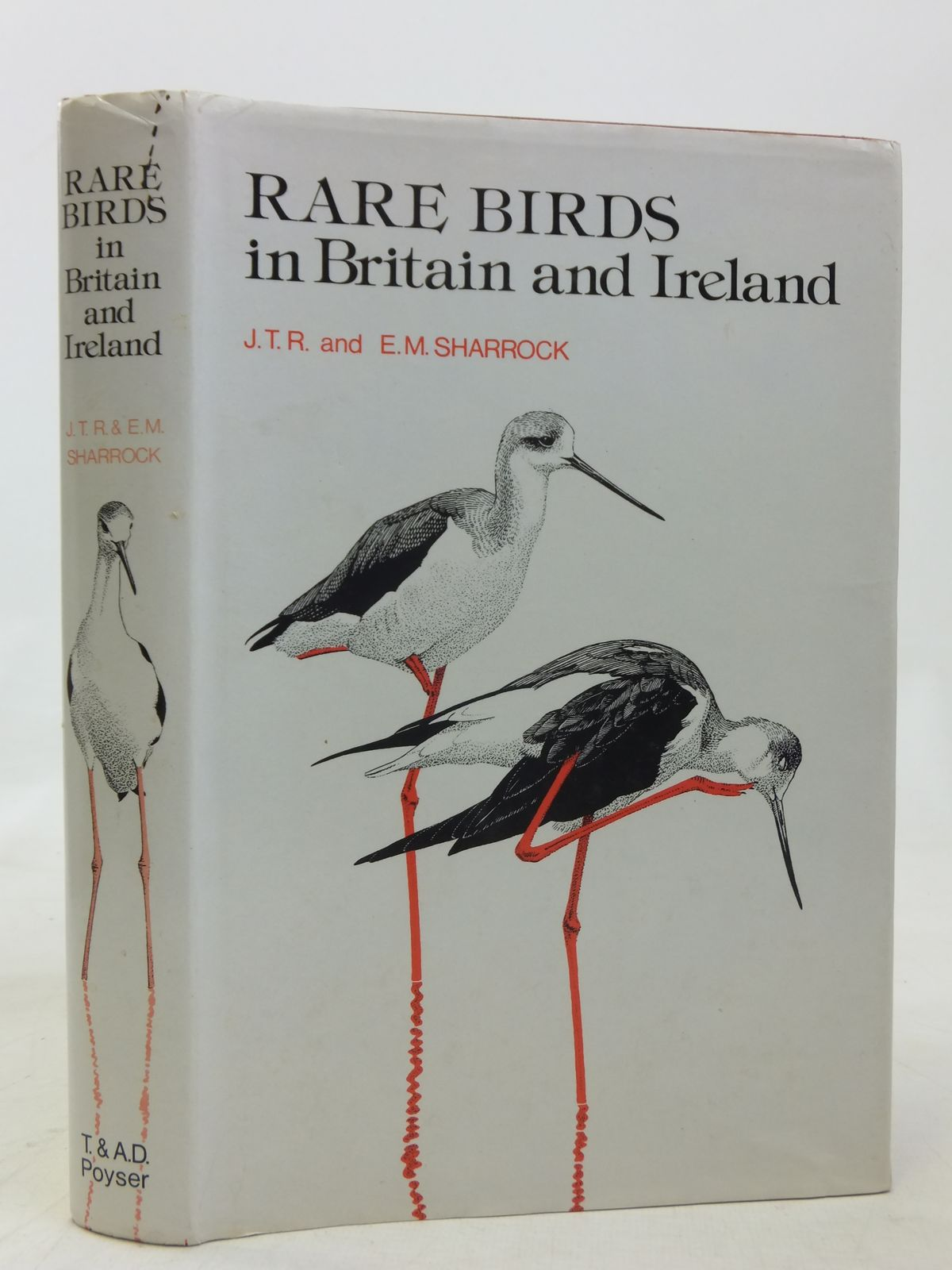 Photo of RARE BIRDS IN BRITAIN AND IRELAND written by Sharrock, J.T.R. Sharrock, E.M. illustrated by Gillmor, Robert et al.,  published by T. & A.D. Poyser (STOCK CODE: 1606451)  for sale by Stella & Rose's Books