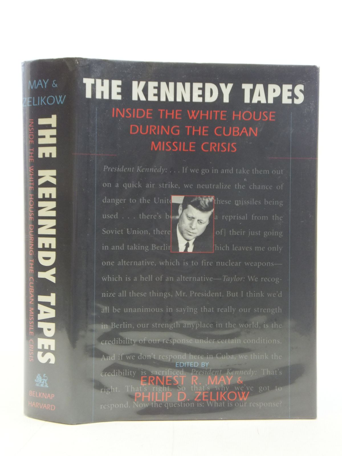 Photo of THE KENNEDY TAPES written by May, Ernest R.