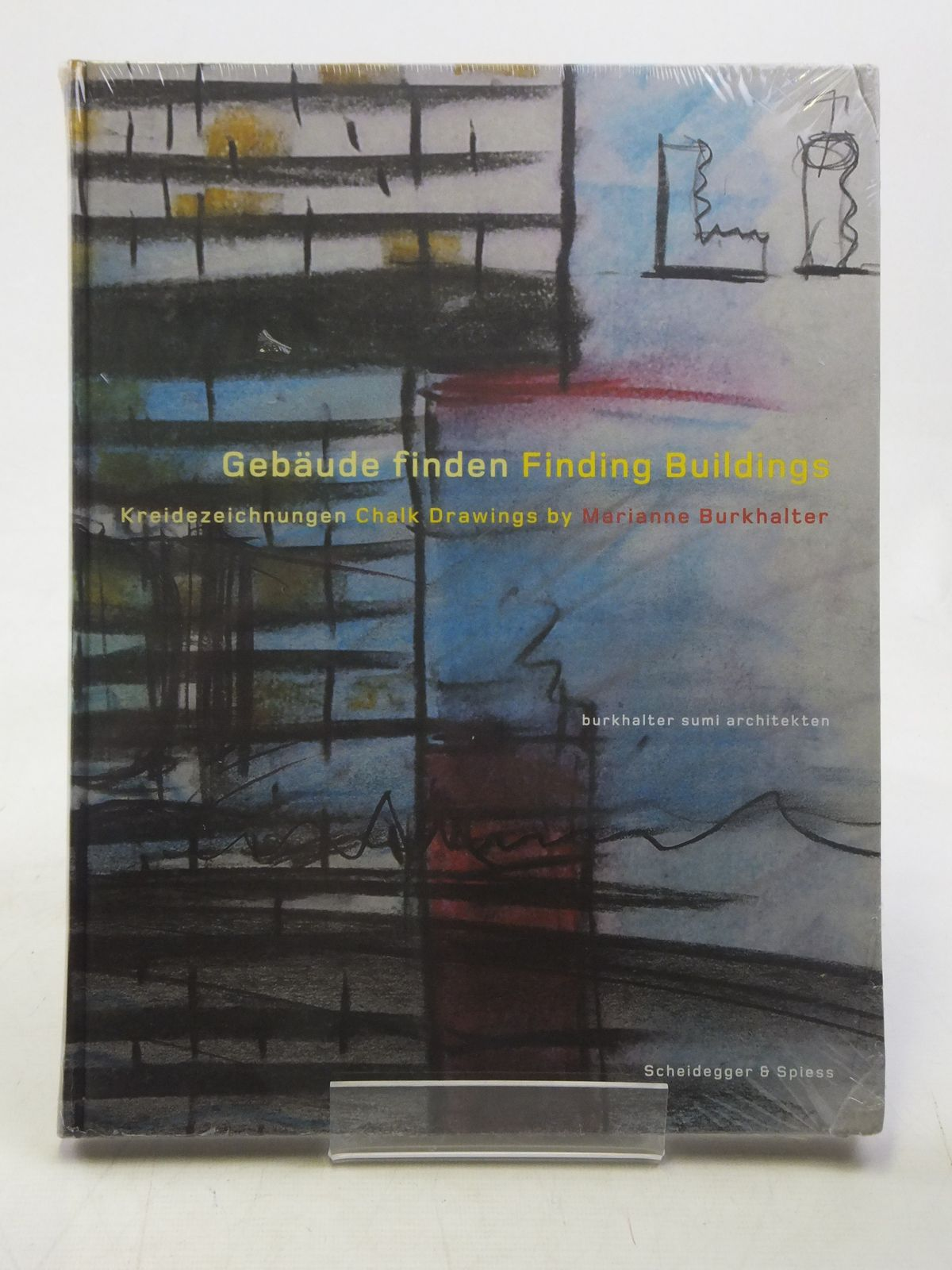 Photo of FINDING BUILDINGS CHALK DRAWINGS BY MARIANNE BURKHALTER- Stock Number: 1607044