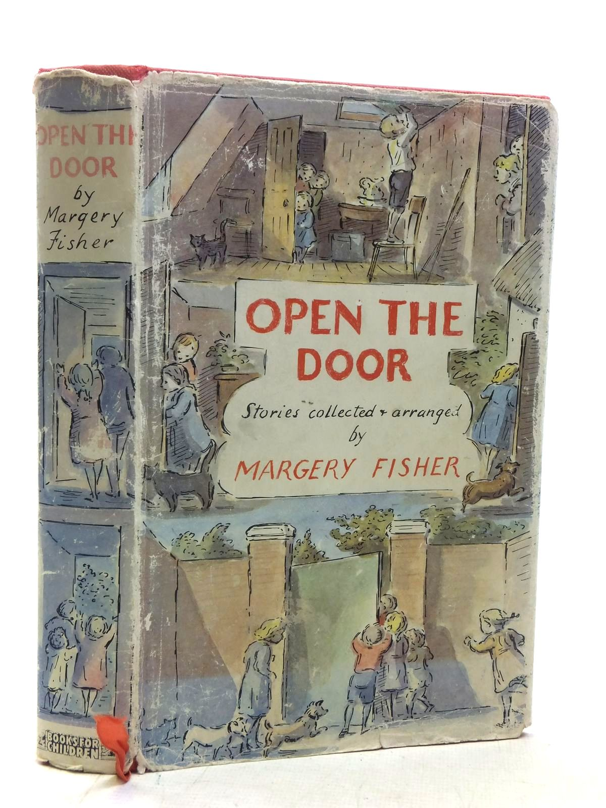 Photo of OPEN THE DOOR written by Fisher, Margery Farjeon, Eleanor Kingsley, Charles Berg, Leila et al,  illustrated by Ardizzone, Edward published by Books For Children (STOCK CODE: 1607108)  for sale by Stella & Rose's Books