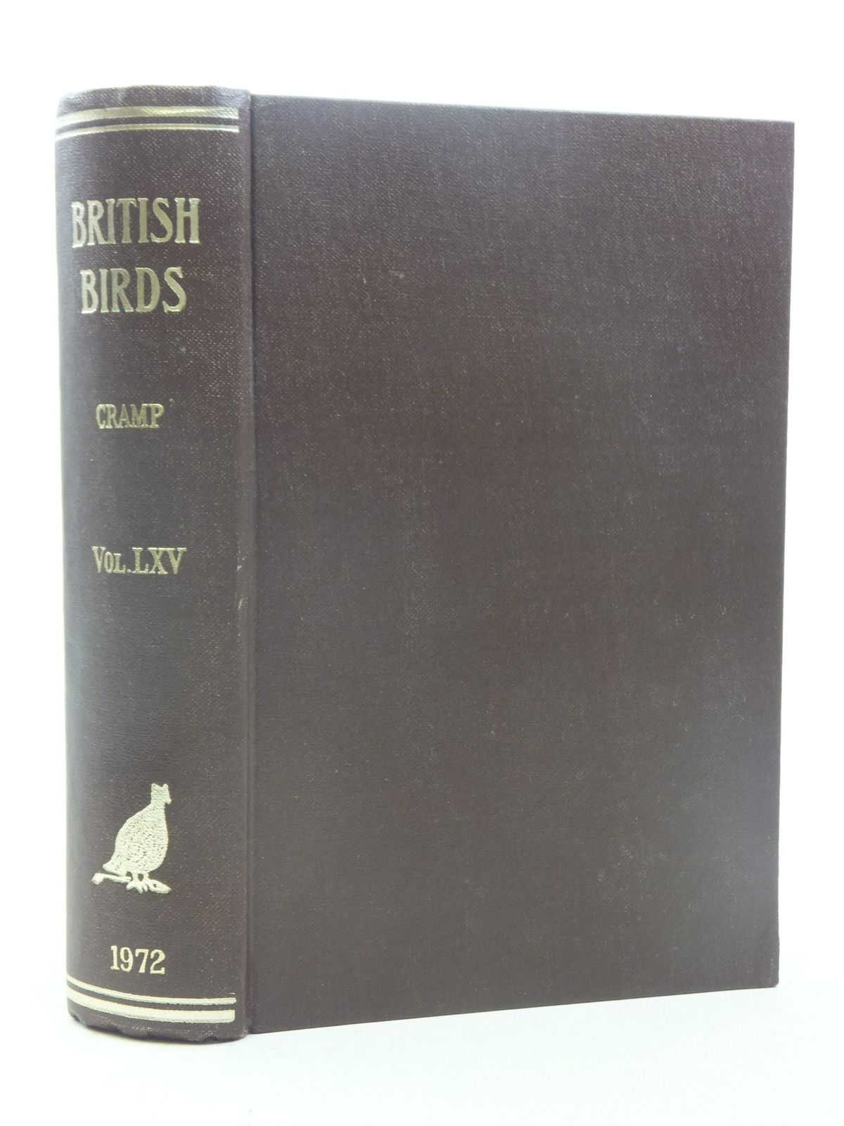 Photo of BRITISH BIRDS VOL. LXV- Stock Number: 1607116