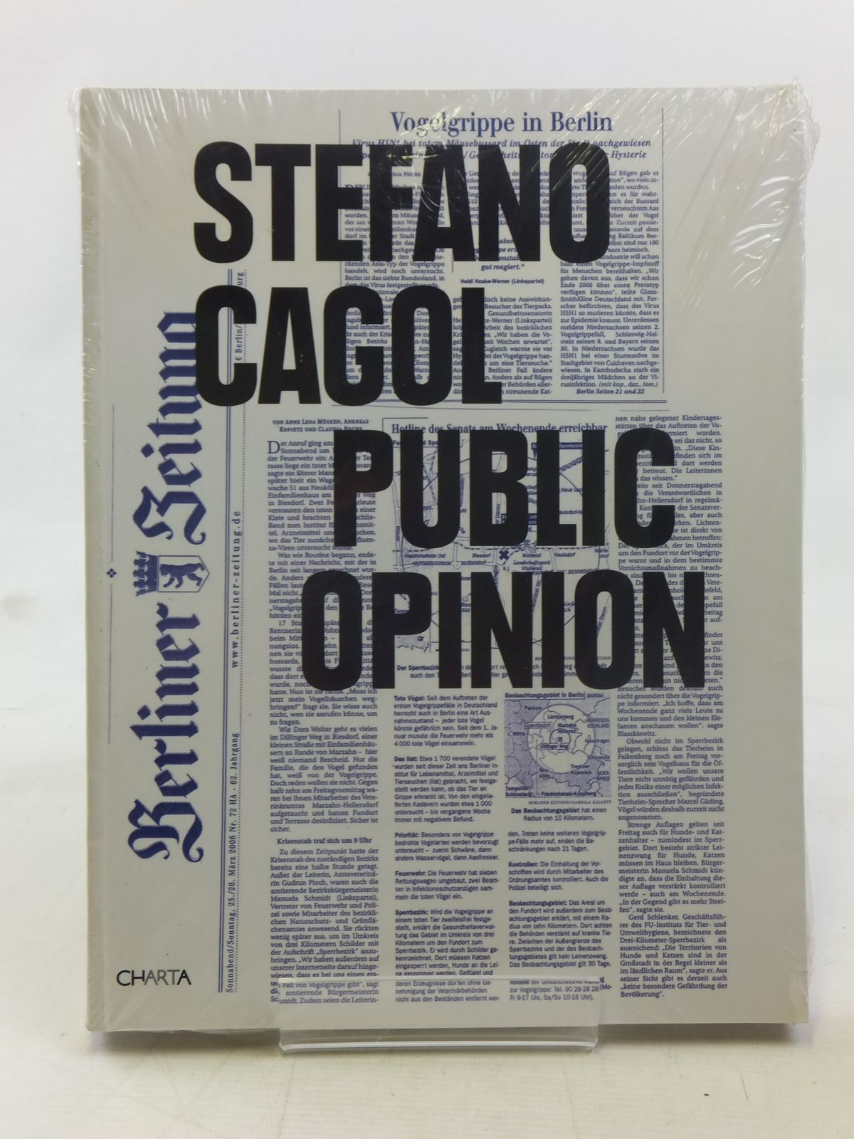 Photo of STEFANO CAGOL PUBLIC OPINION written by Cagol, Stefano illustrated by Cagol, Stefano published by Charta (STOCK CODE: 1607158)  for sale by Stella & Rose's Books