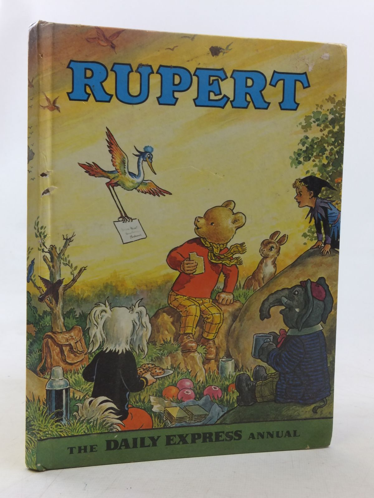 Photo of RUPERT ANNUAL 1972 written by Bestall, Alfred illustrated by Bestall, Alfred published by Daily Express (STOCK CODE: 1607178)  for sale by Stella & Rose's Books