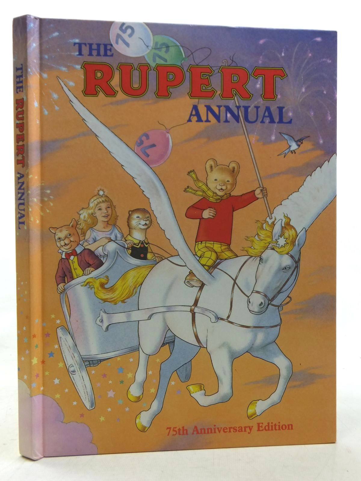 Photo of RUPERT ANNUAL 1995 written by Robinson, Ian illustrated by Harrold, John published by Pedigree Books Limited (STOCK CODE: 1607289)  for sale by Stella & Rose's Books