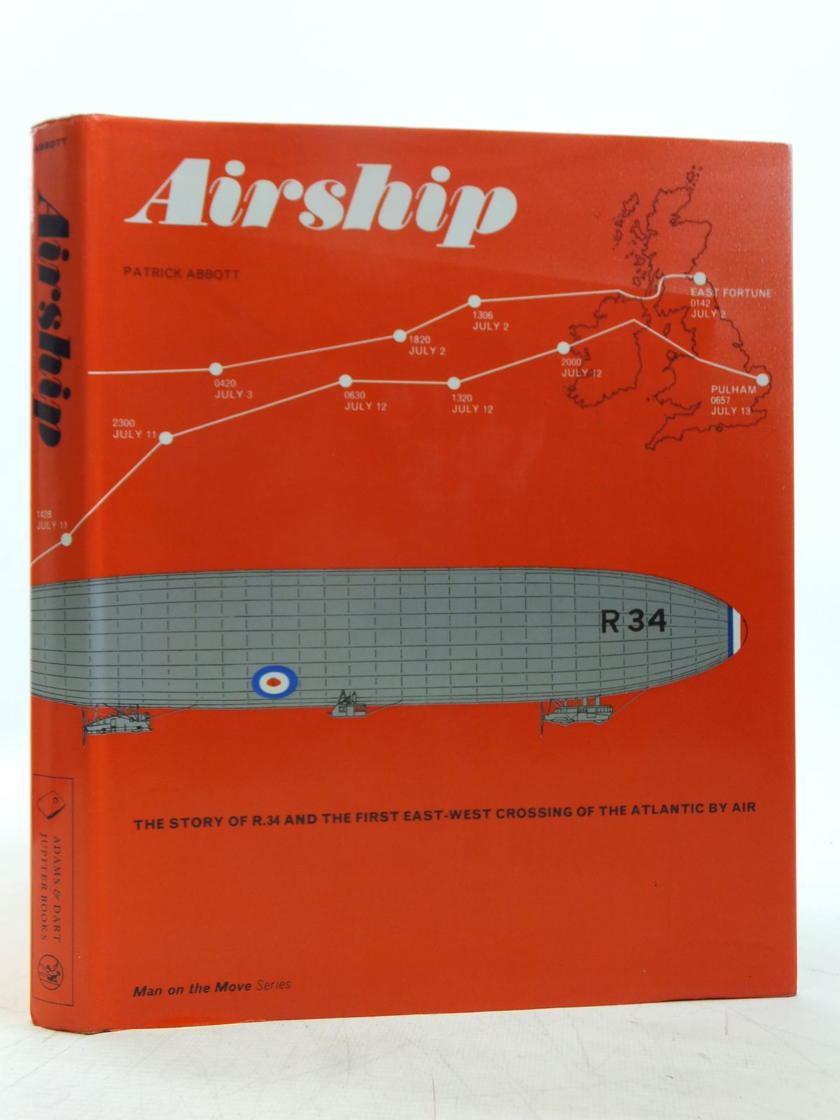 Photo of AIRSHIP written by Abbott, Patrick published by Adams & Dart, Jupiter Books (STOCK CODE: 1607656)  for sale by Stella & Rose's Books
