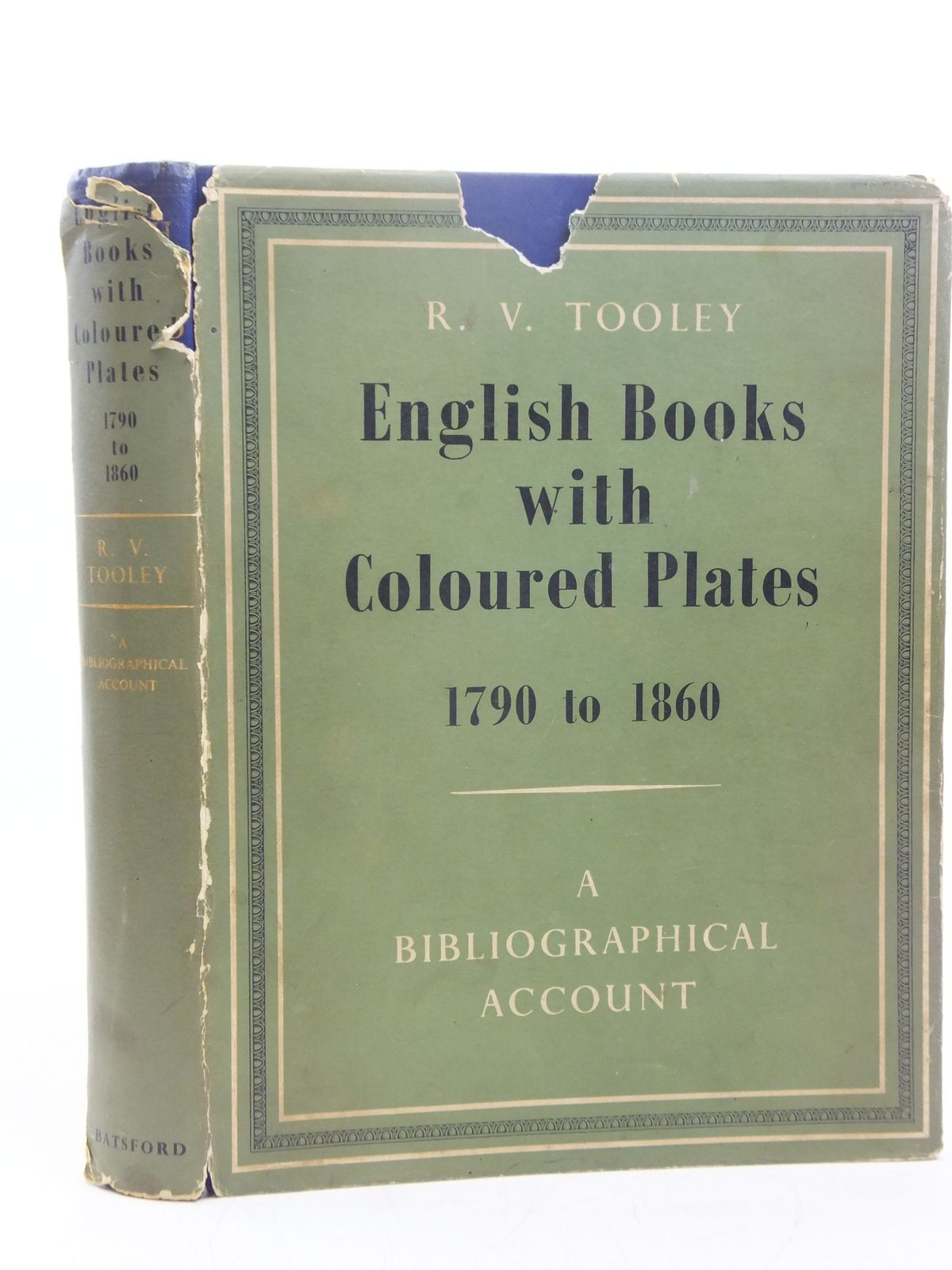 Photo of ENGLISH BOOKS WITH COLOURED PLATES 1790 TO 1860 written by Tooley, R.V. published by B.T. Batsford Ltd. (STOCK CODE: 1607691)  for sale by Stella & Rose's Books
