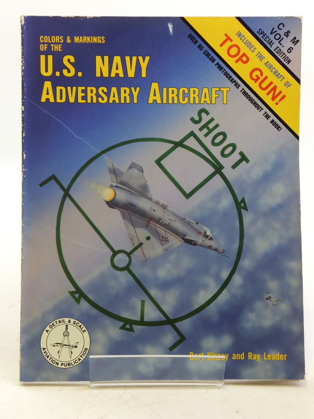 Photo of COLOURS &amp; MARKINGS OF THE U.S. NAVY ADVERSARY AIRCRAFT written by Kinzey, Bert<br />Leader, Ray published by TAB Books (STOCK CODE: 1607844)  for sale by Stella & Rose's Books