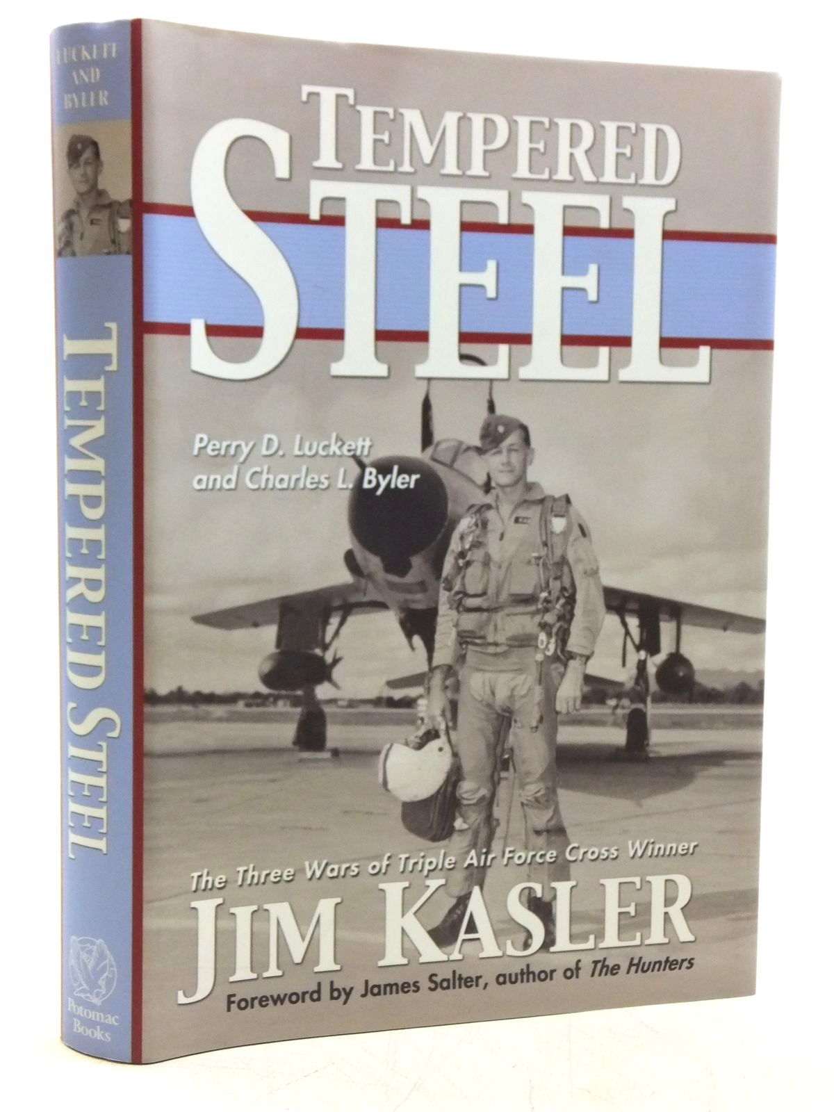 Photo of TEMPERED STEEL written by Luckett, Perry D. Byler, Charles L. published by Potomac Books, Inc. (STOCK CODE: 1607864)  for sale by Stella & Rose's Books