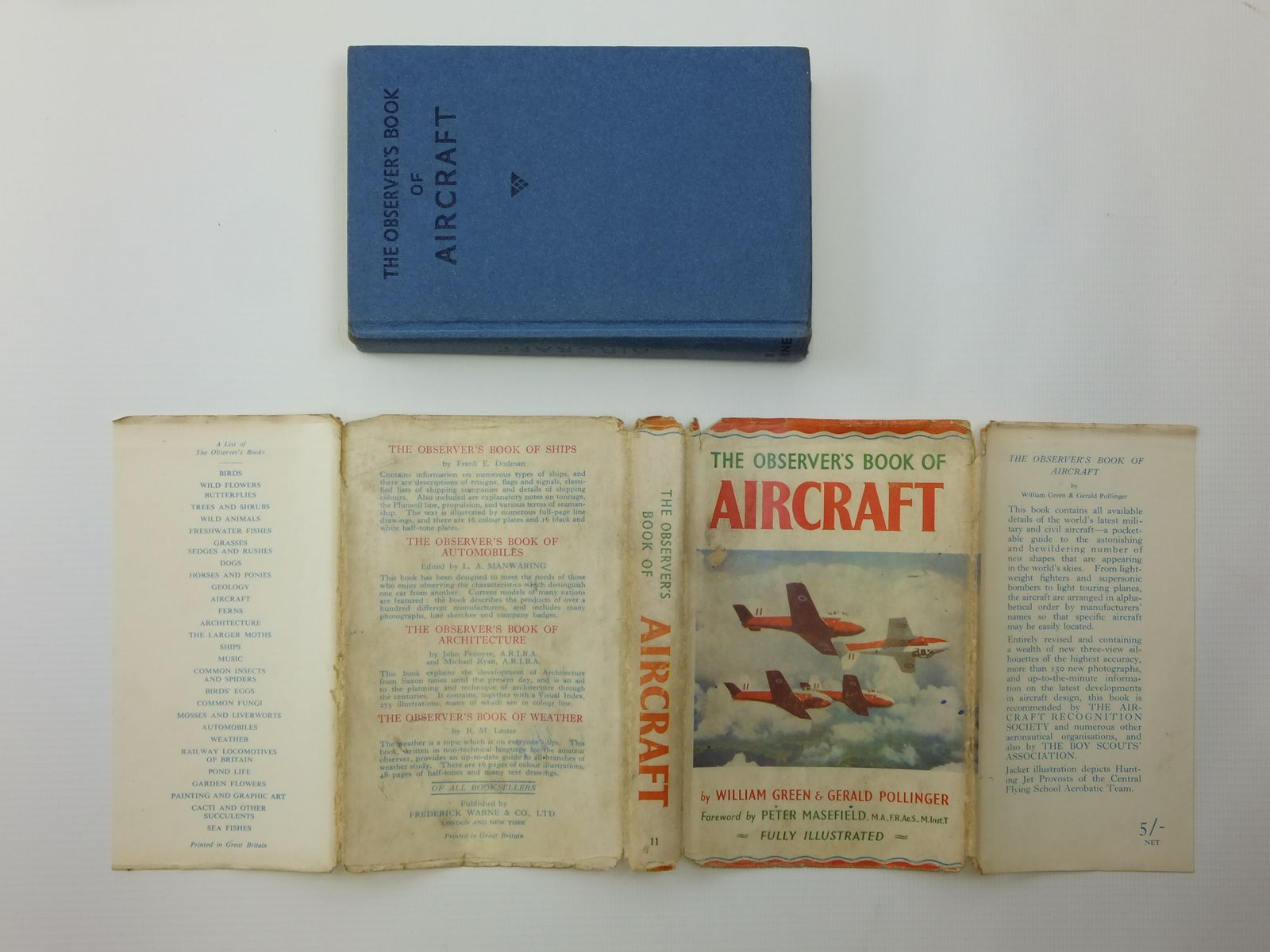 Photo of THE OBSERVER'S BOOK OF AIRCRAFT written by Green, William