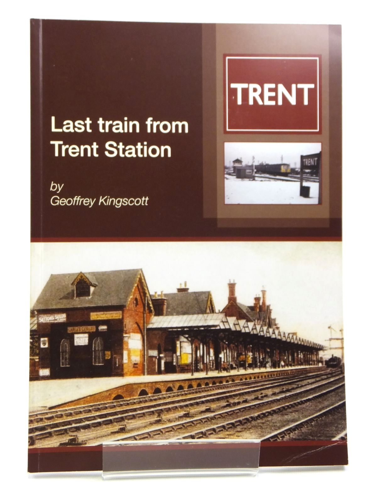 Photo of LAST TRAIN FROM TRENT STATION- Stock Number: 1608014